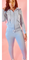 Snuggle sweat suit