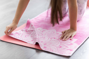 Hot Yoga Towel – Mandala Rose