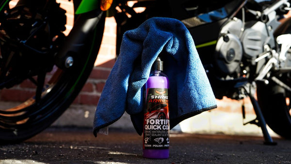 Shine Armor Fortify Quick Coat - Ceramic Waterless Wash, Shine & Protect + Free Gift