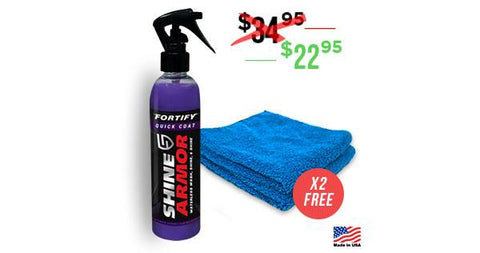 Shine Armor® Wash And Wax - Advent Shine Armor Fortify Quick Coat + 2 Free Micros