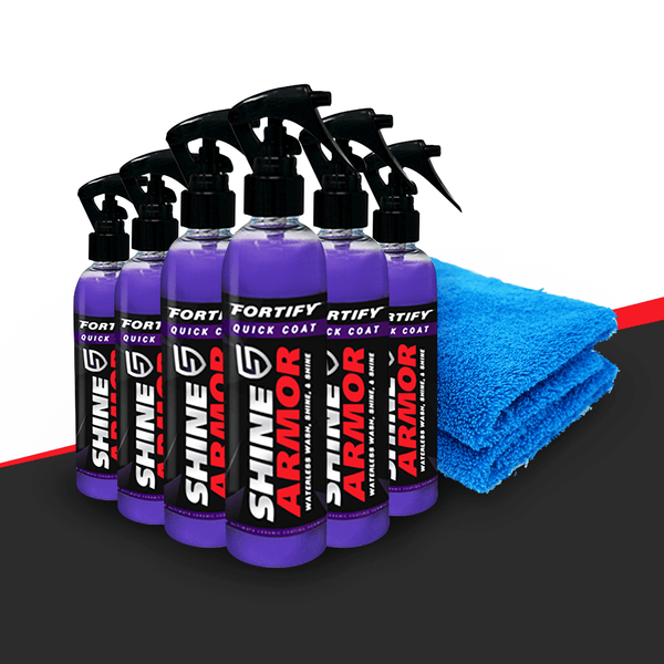 Shine Armor® Wash And Wax - Shine Armor Fortify Quick Coat - Ceramic Waterless Wash, Shine & Protect