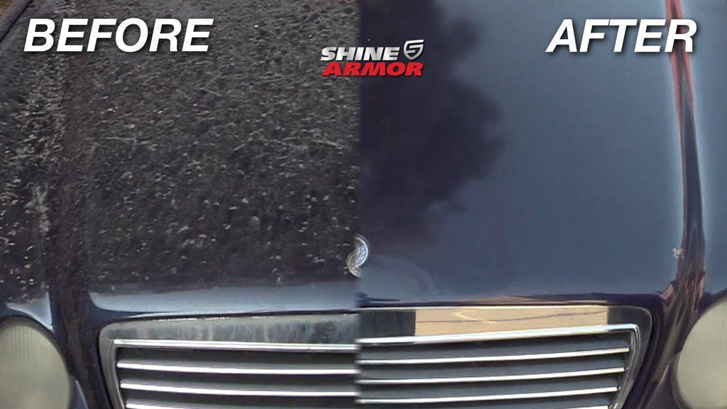 Shine Armor® Wash And Wax - Shine Armor Fortify Quick Coat - Ceramic Waterless Wash, Shine & Protect - 3