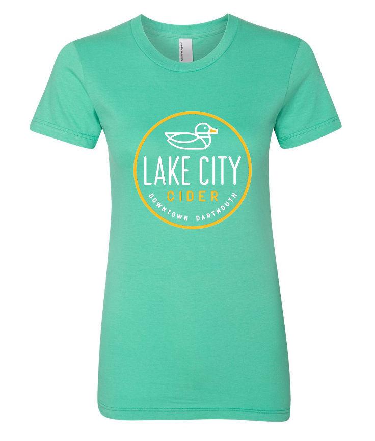 Mint Green Ladies T-Shirt