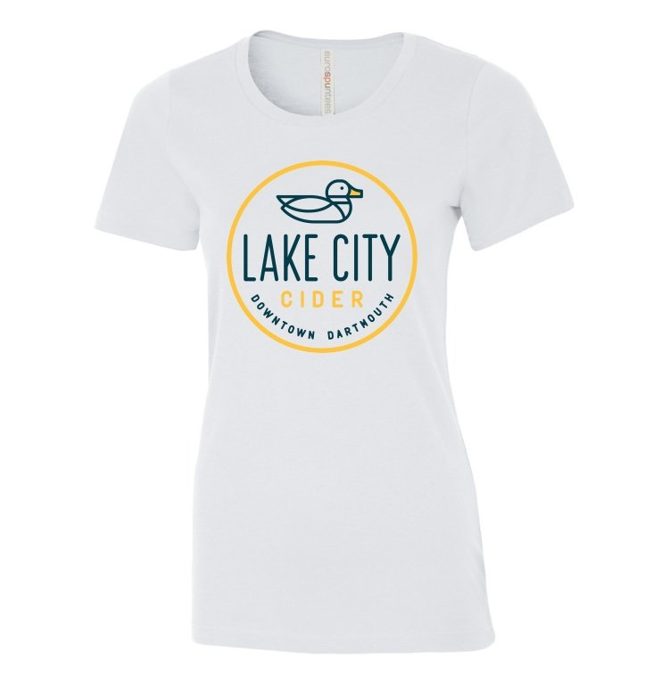 Ladies T-Shirt - Lake City Cider
