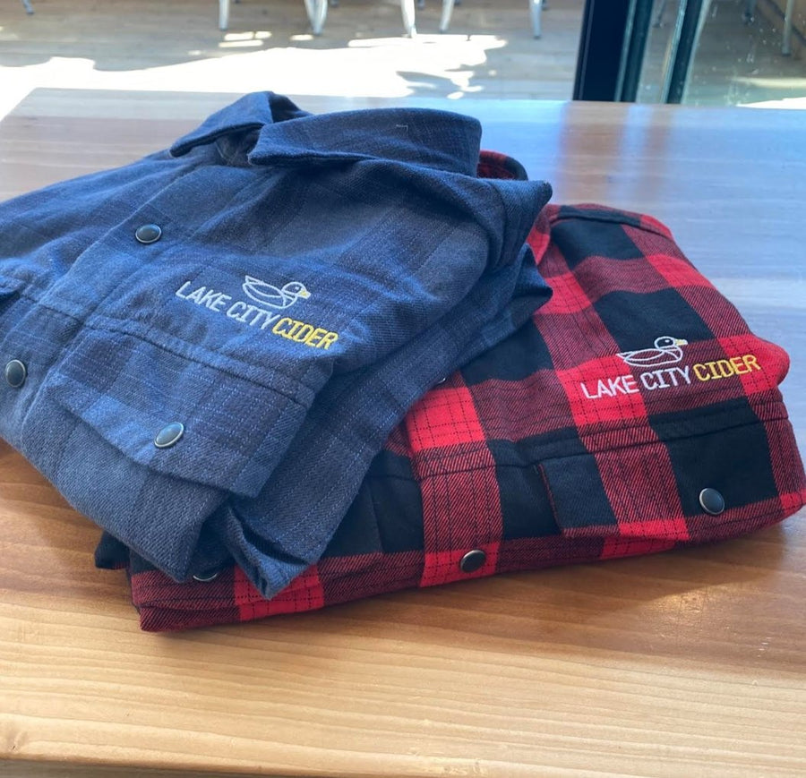 Lake City Cider Plaid Shirt - Lake City Cider