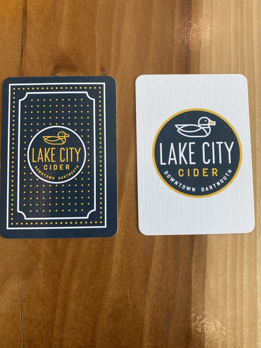 Lake City Cider Playing Cards - Lake City Cider