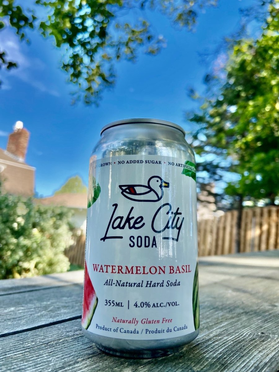 Watermelon Basil Soda - Lake City Cider