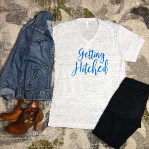 """Getting Hitched Tee"""