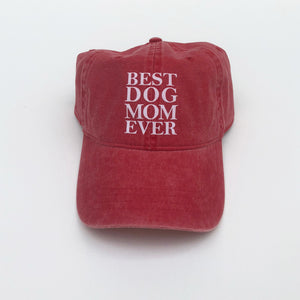 Best Dog Mom Ever Hat