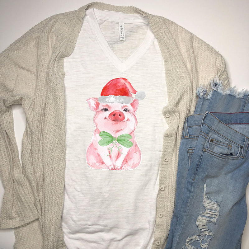 Christmas Piggy T-shirt