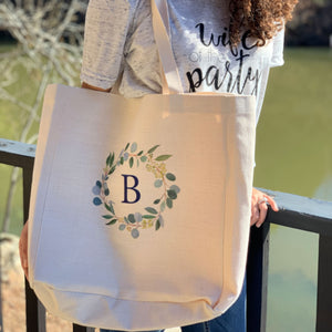 """Personalized Bridesmaid Tote Bag"""