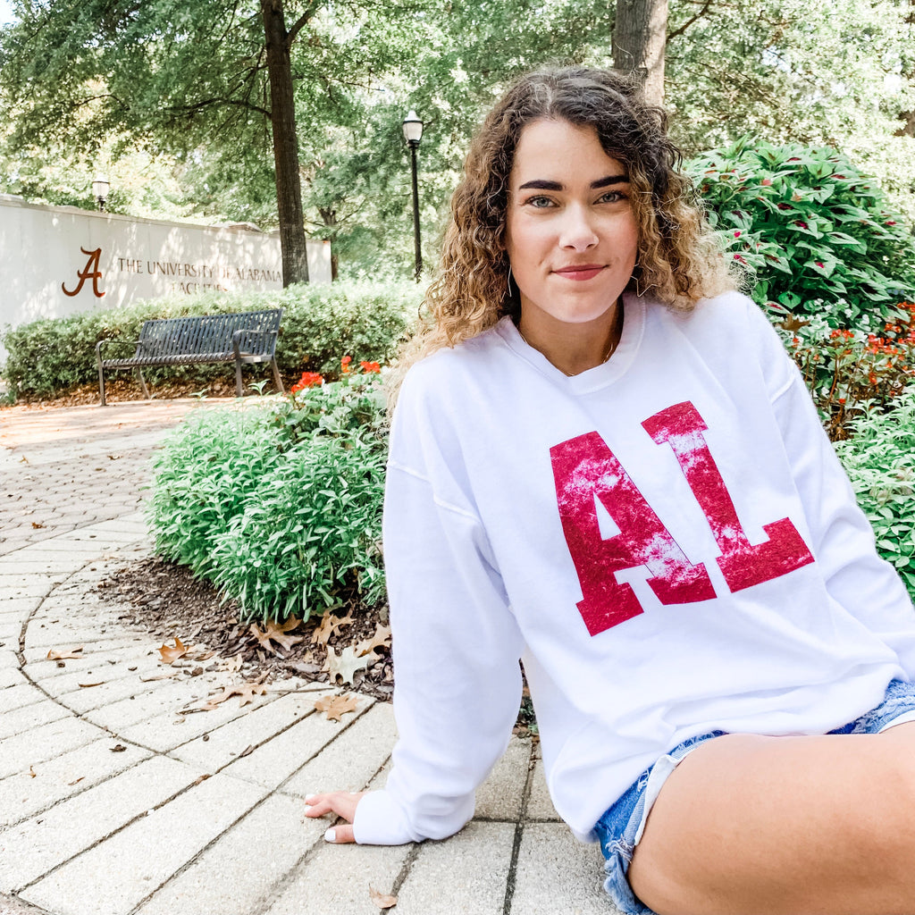 Alabama Vintage Sweatshirt - Inside Out Style
