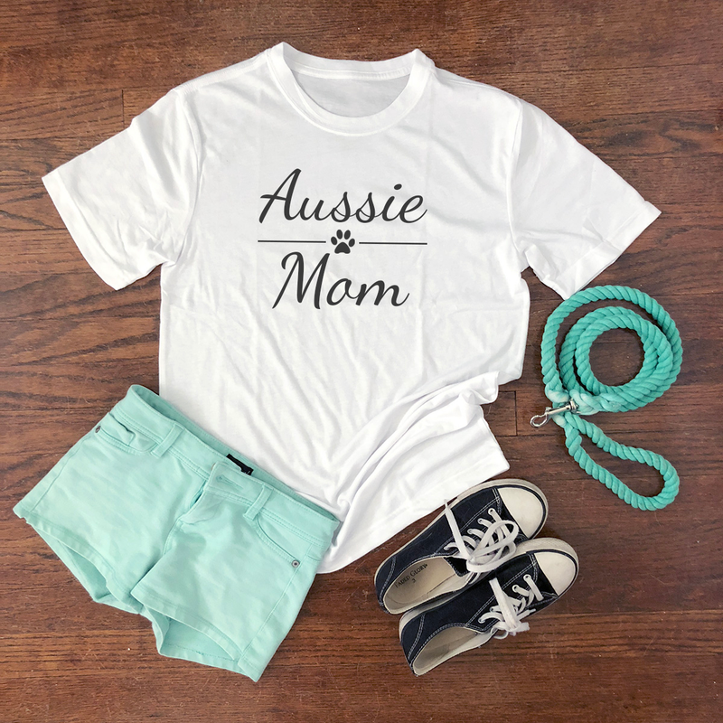 aussie mom short sleeve