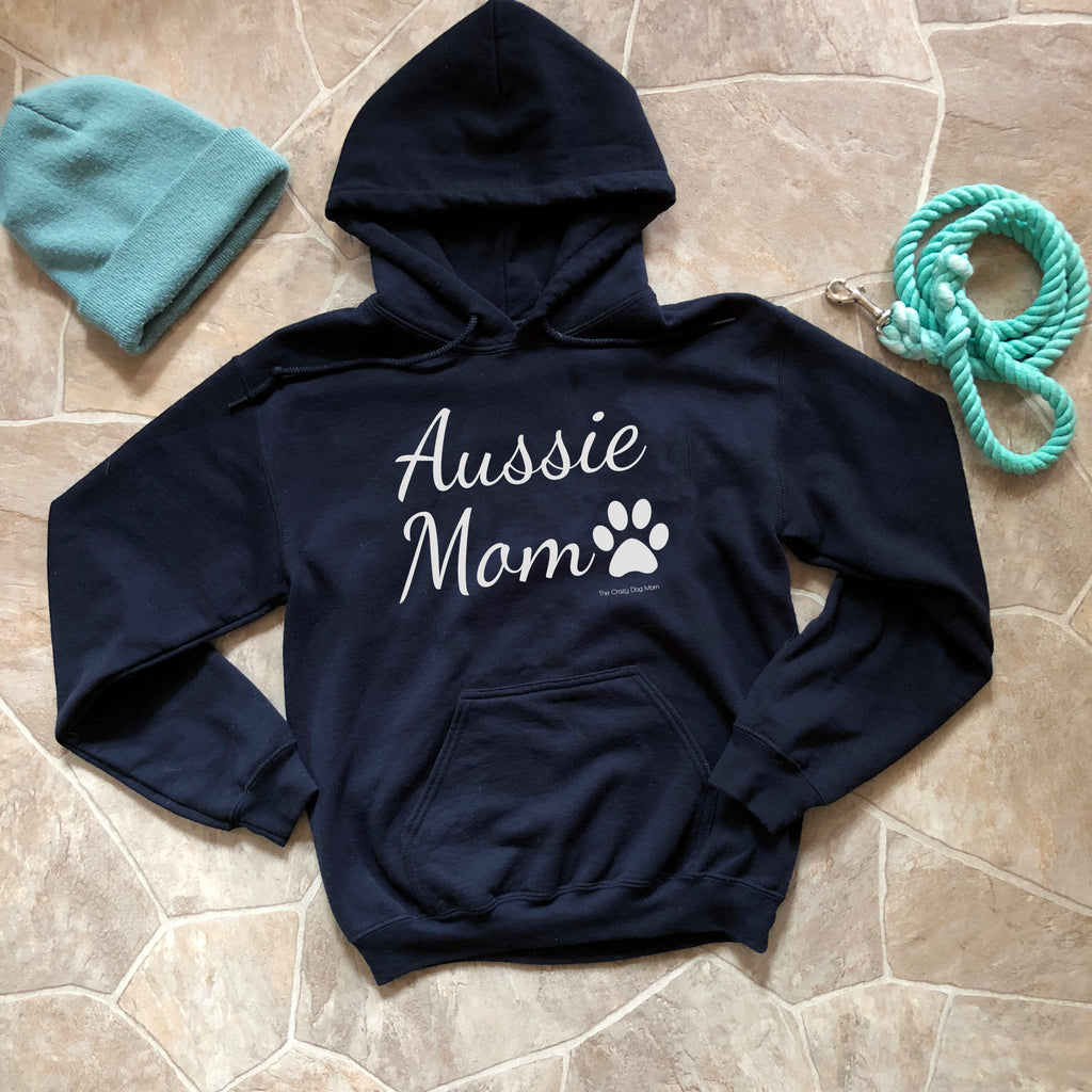 Aussie Mom Hooded Sweatshirt