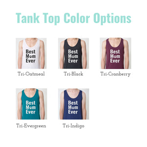 dog mom tank top colors