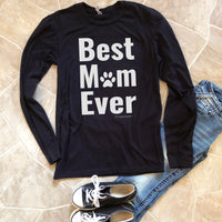 dog mom long sleeve shirt