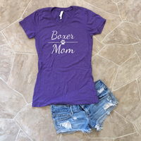 boxer mom short sleeve
