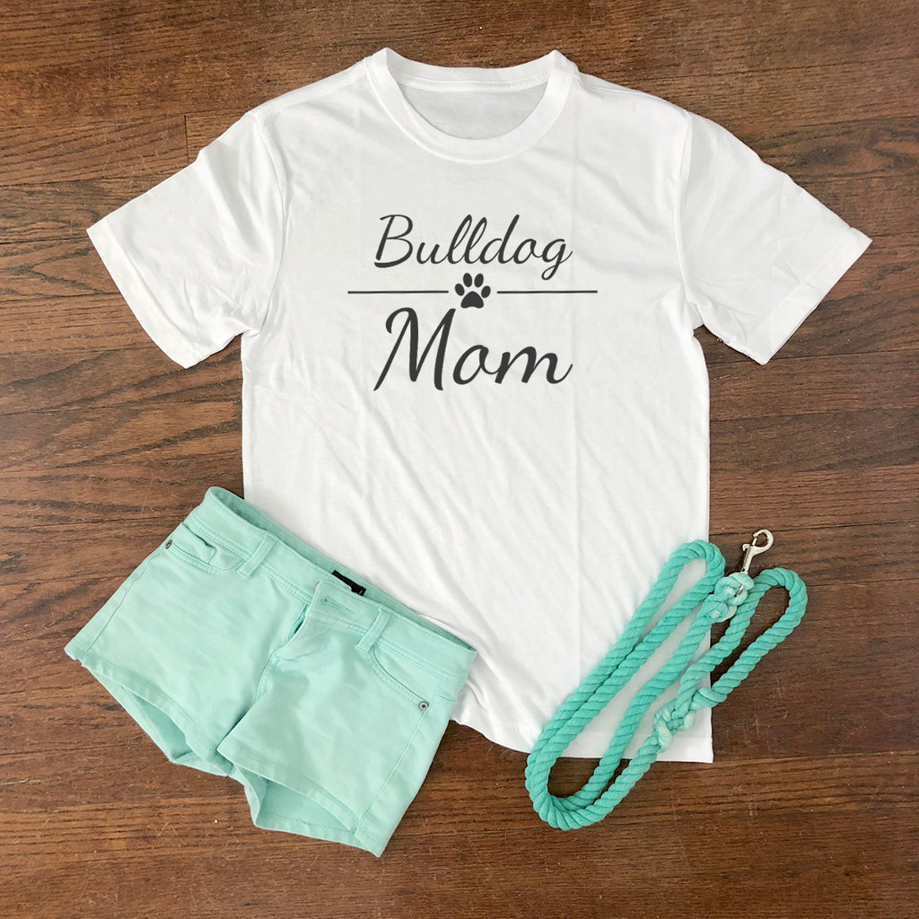 bulldog mom short sleeve