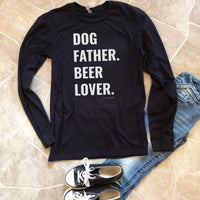 dog father long sleeve