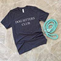 dog sitters club shirt
