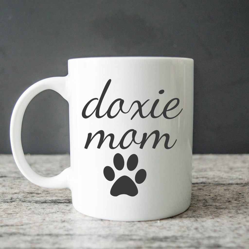 Doxie Mom Coffee Mug