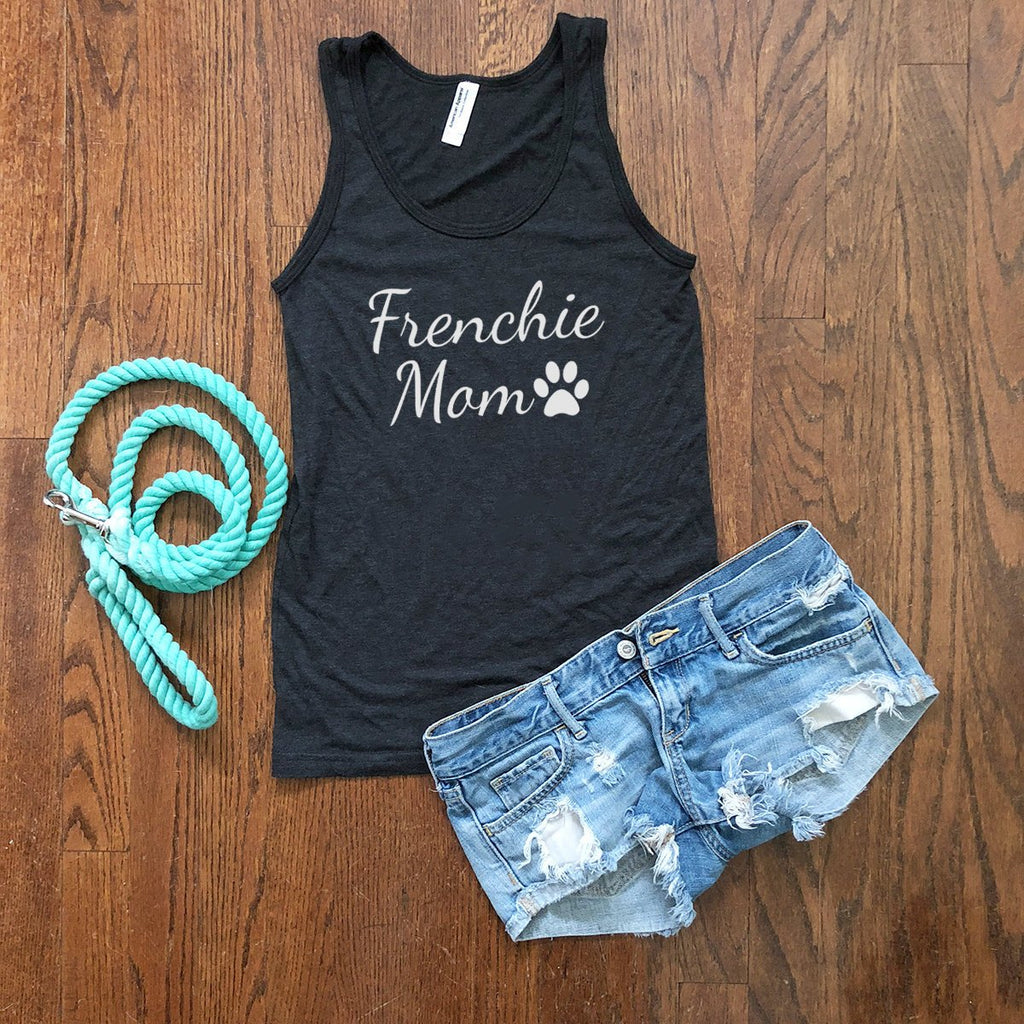 frenchie dog mom tank top