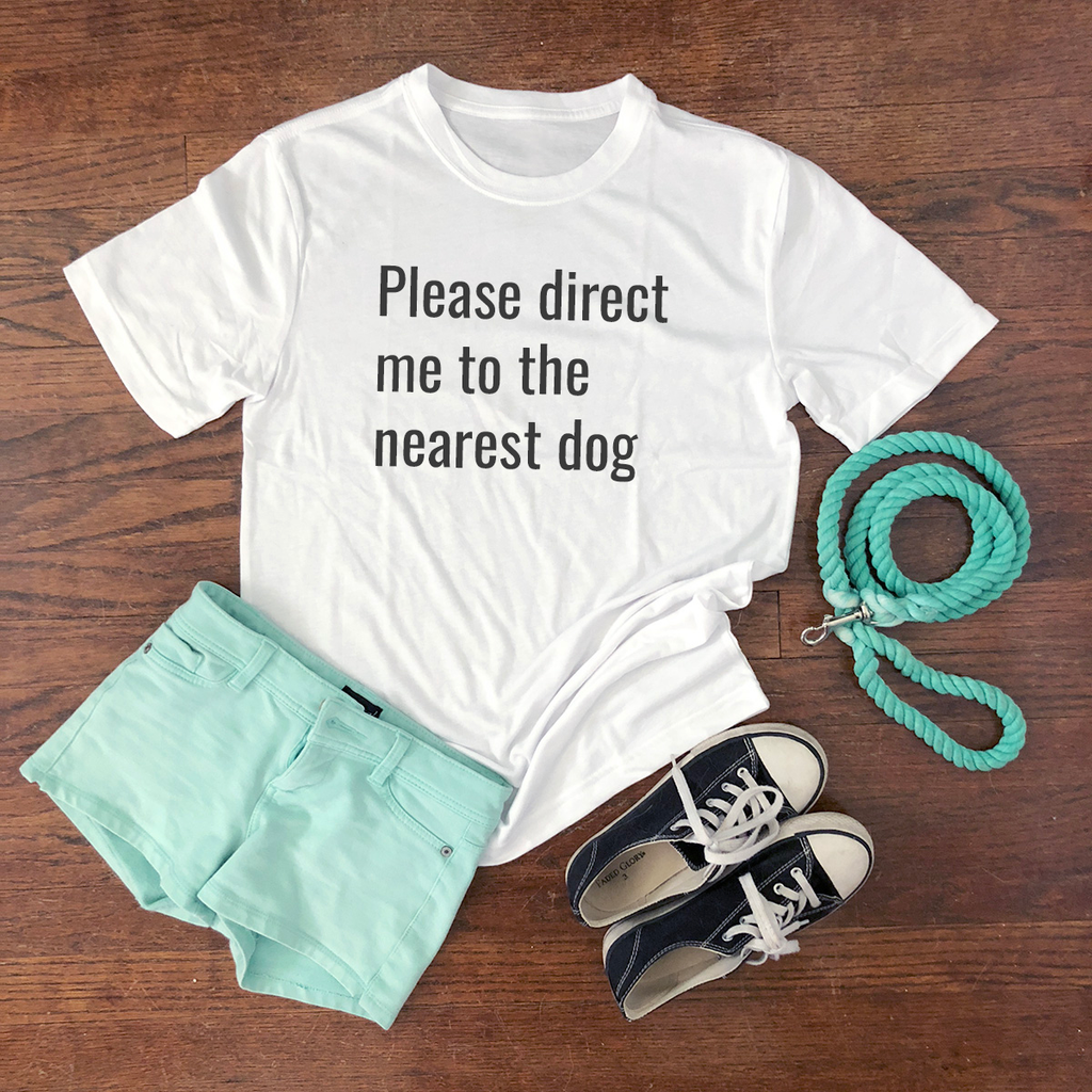 direct me to the nearest dog shirt