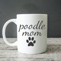poodle mom coffee cup