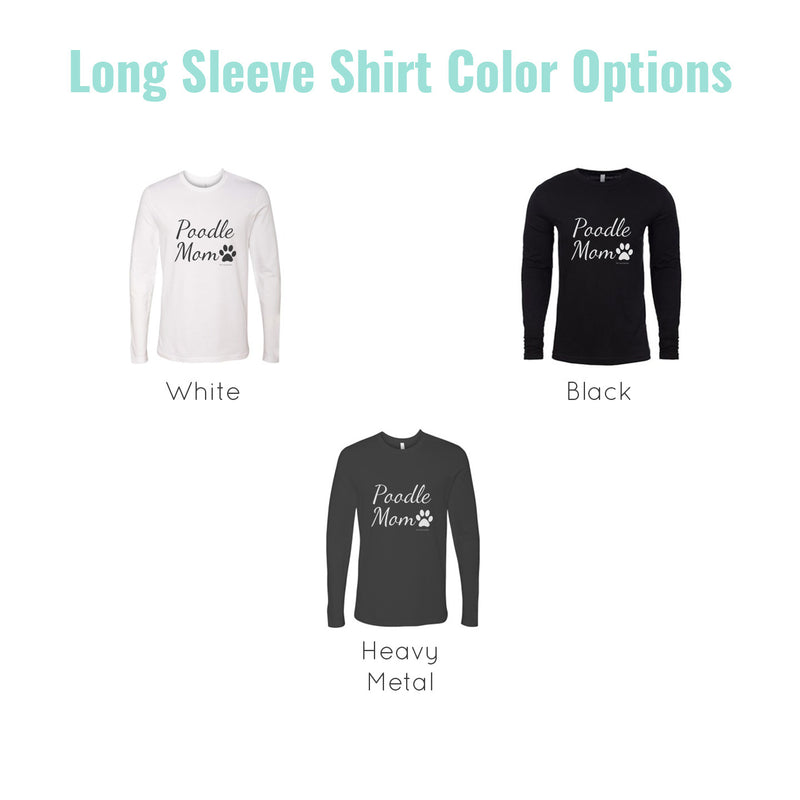 dog mom long sleeve colors