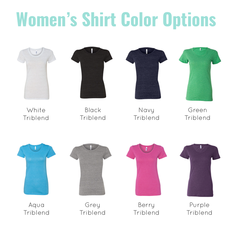 womens shirt colors