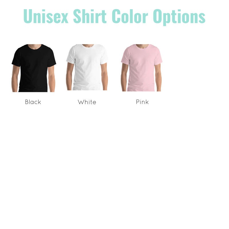 unisex shirt colors
