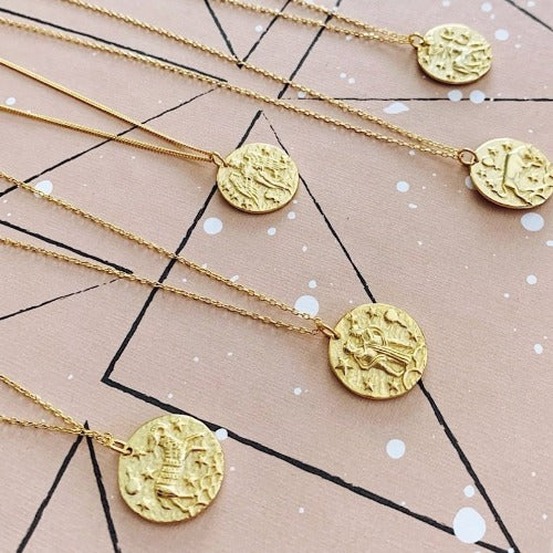 Gemini Coin Necklace Cristalore
