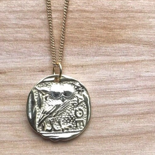 Olympus Coin Necklace Cristalore