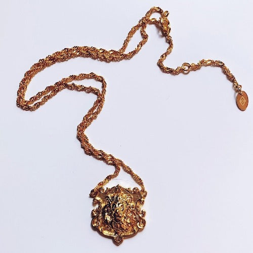 Lion of Florence Necklace Cristalore