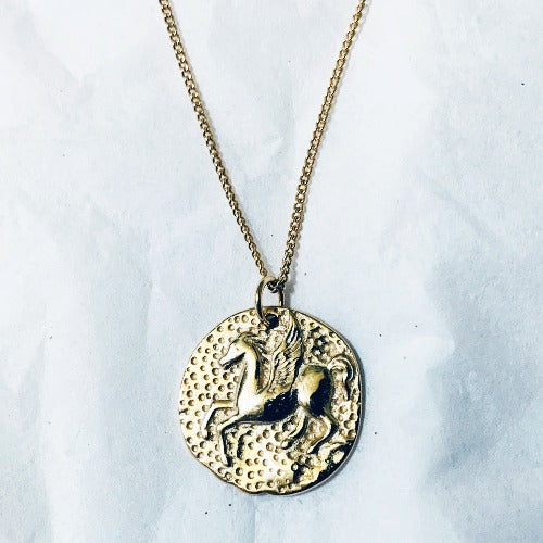 Olympus Coin Necklace