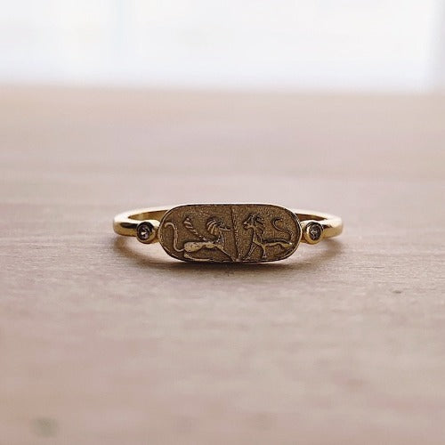 Cleopatra's Seal Ring | Cristalore