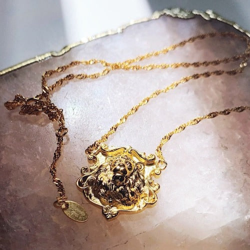 Lion of Florence Necklace