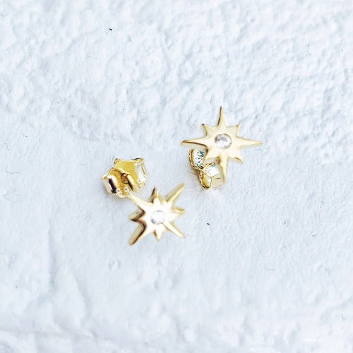 Starburst Earrings Cristalore