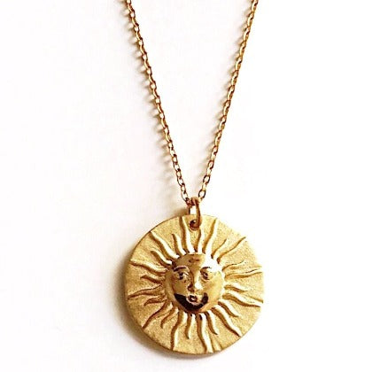 Chronos Medallion Necklace Cristalore