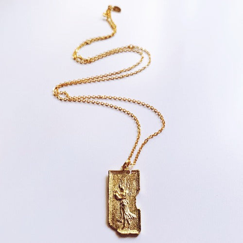 Winged Victory Relic Necklace