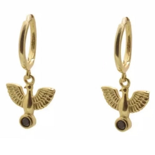 Horus Hoop Earrings Cristalore