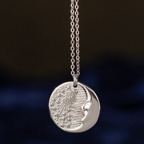 Chronos Medallion Necklace
