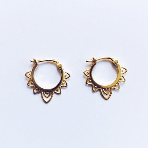 Constantinople Hoop Earrings Cristalore