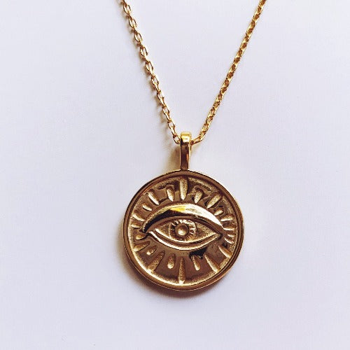 Evil Eye Necklace Cristalore