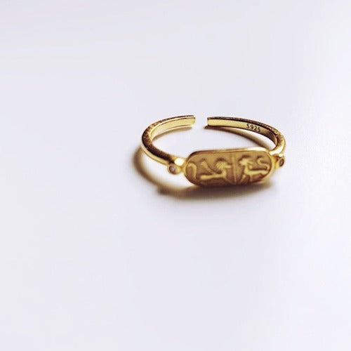 Cleopatra's Seal Ring Cristalore