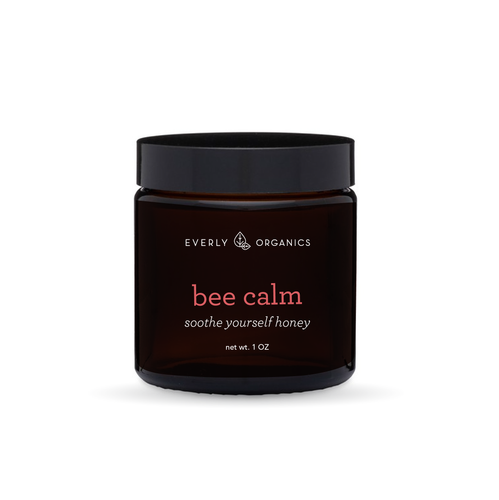 Everly Organics, Bee Calm, soothe yourself honey, CBD honey