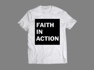 Faith In Action / Black & White