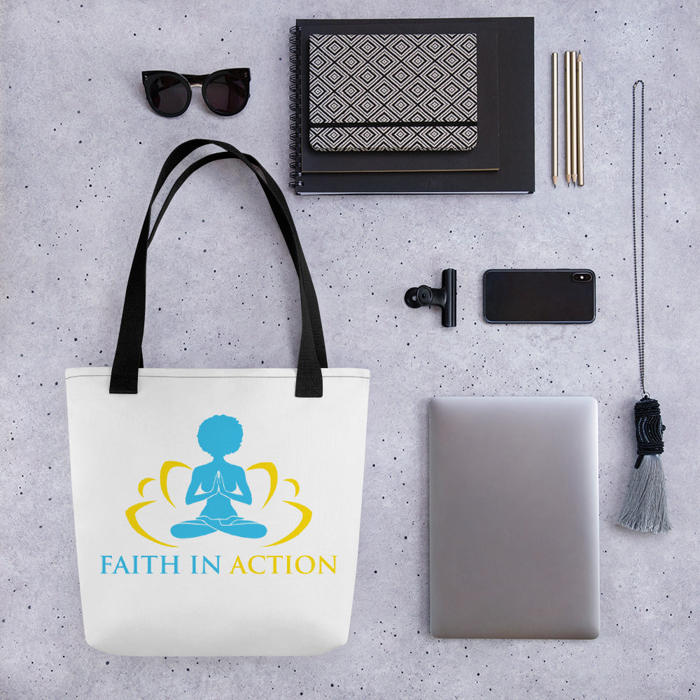 Faith In Action Tote