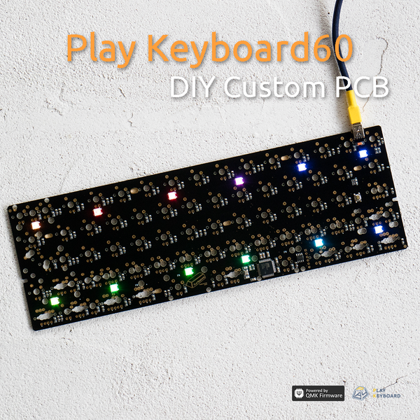 Play Keyboard60 PCB