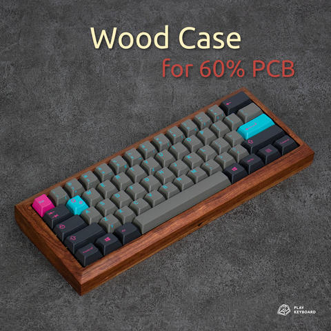 Wood Case - 60% Keyboard Case
